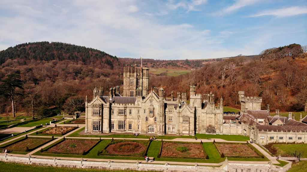 Famous Castles in South Wales-Margam-Castle