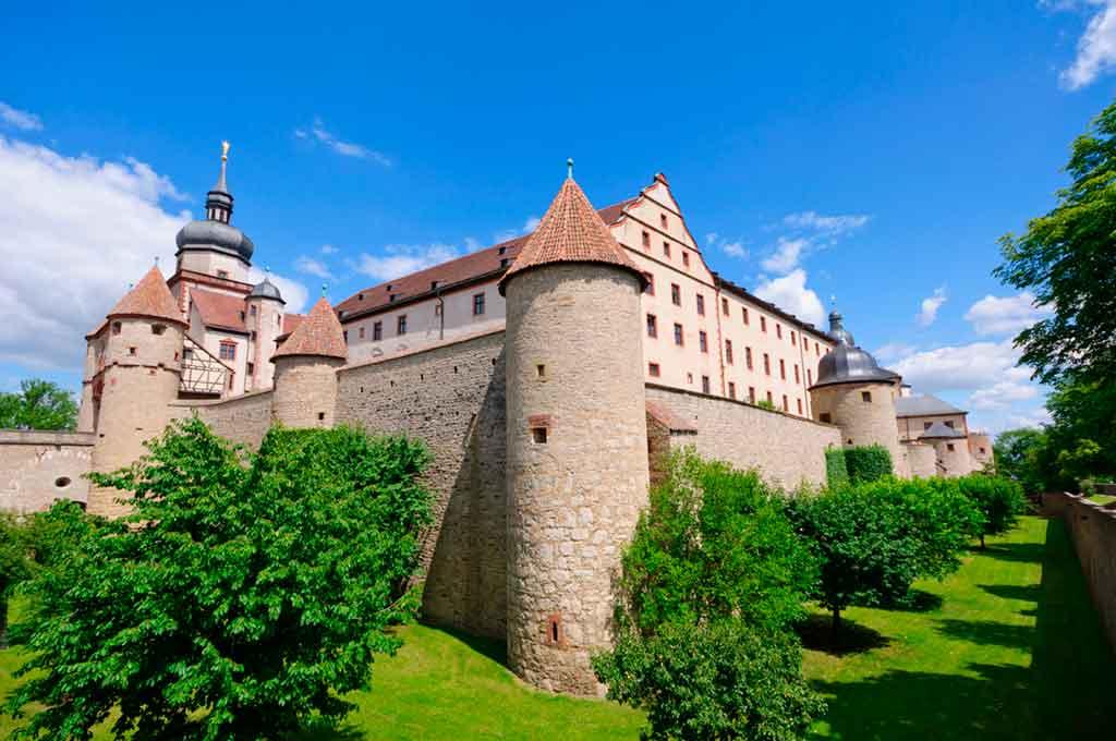 Bavarian Castles-Marienberg-Fortress
