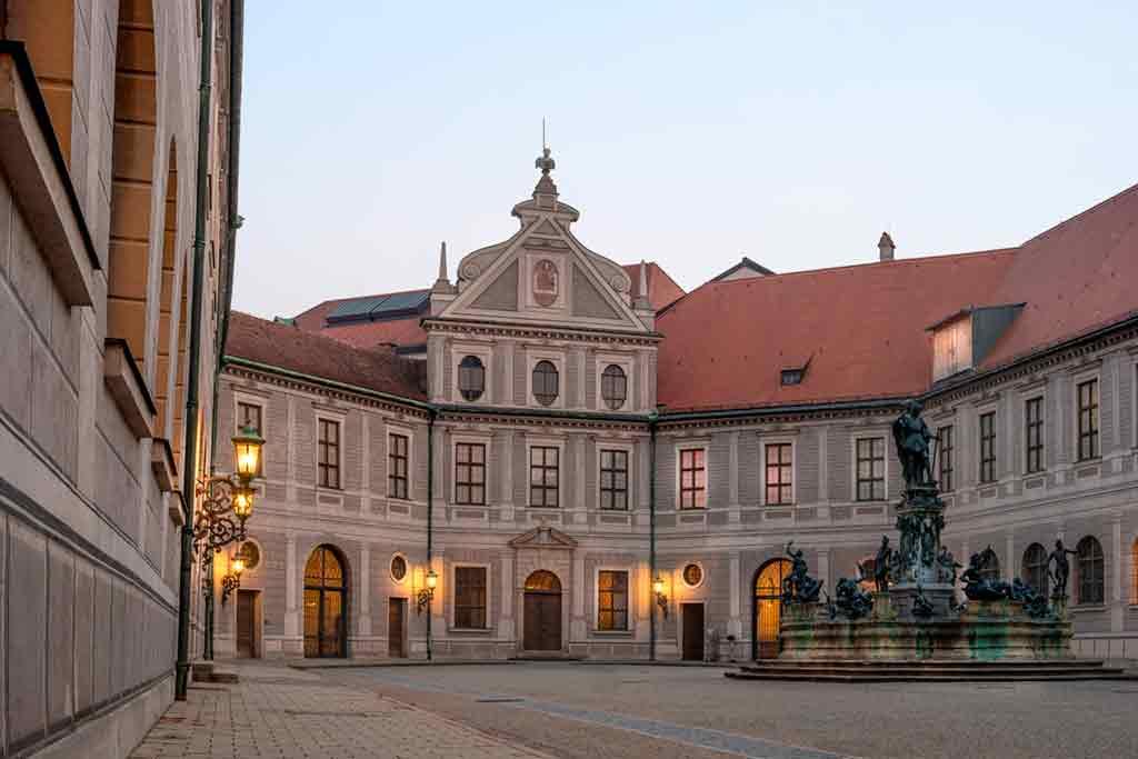 Best castles near Munich-Munich Residenz