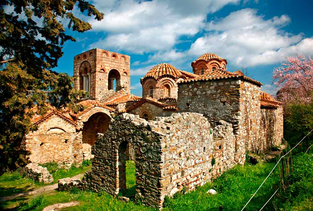 Greek Castles-Mystras-Castle