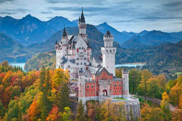 Castles near Munich-Neuschwanstein-Castle