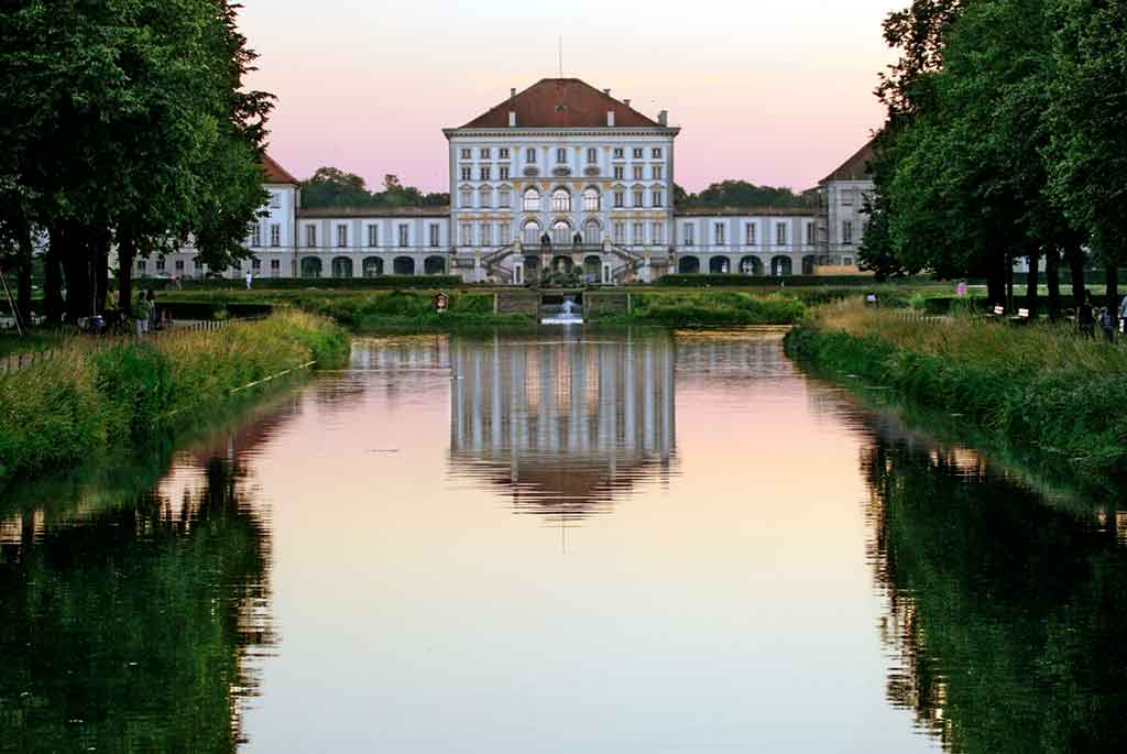 Best castles near Munich-Nymphenburg-Palace