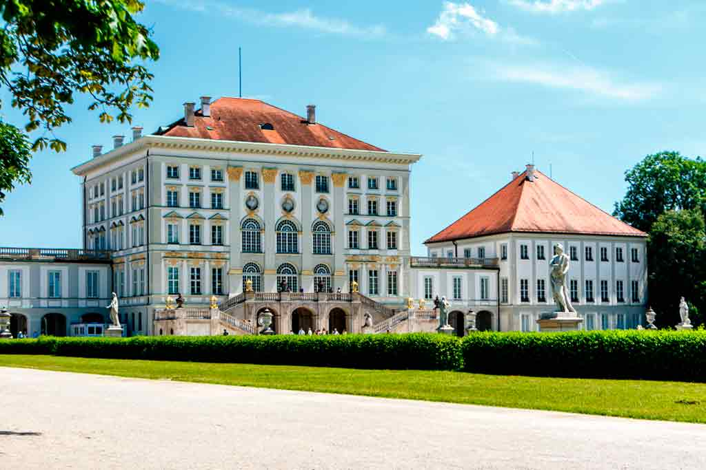 Castles in Bavaria-Nymphenburg-Palace