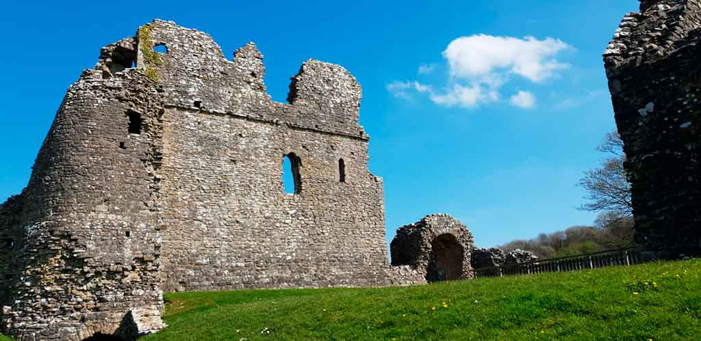 Castles in South Wales-Ogmore-Castle
