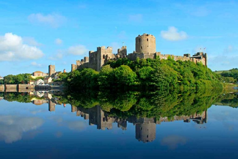 south wales castles-Pembroke-Castle