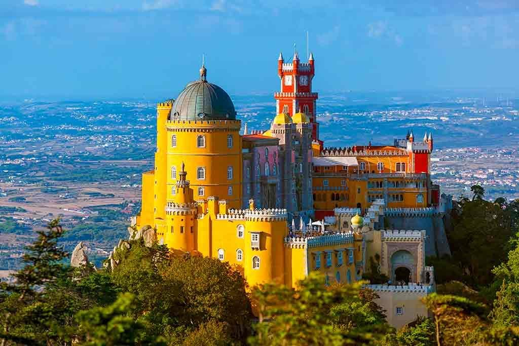 Castles in Portugal-Pena-Palace
