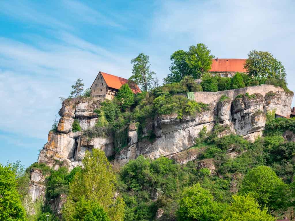 Castles in Bavaria-Pottenstein-Castle