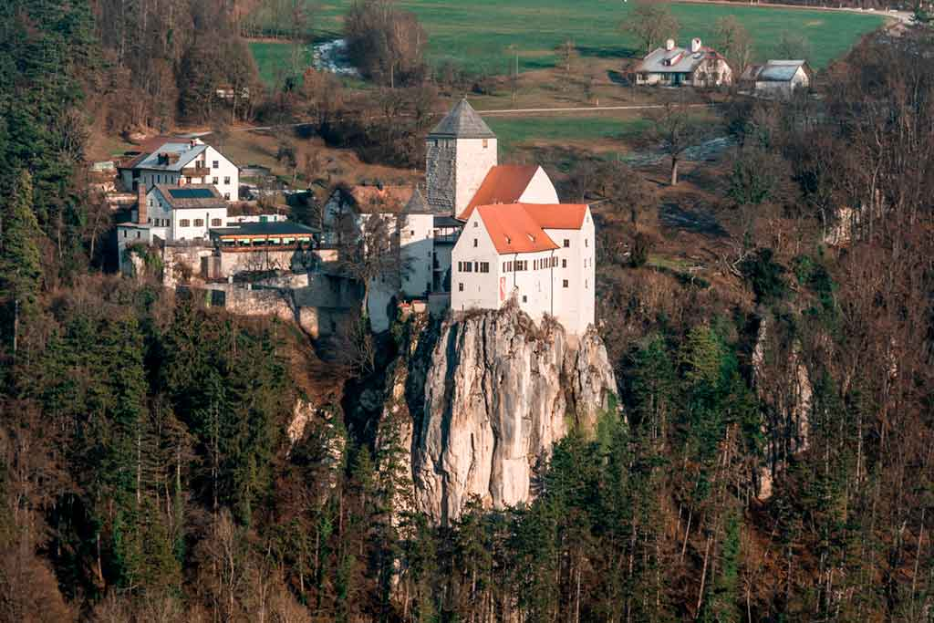Famous Castles in Bavaria-Prunn-Castle