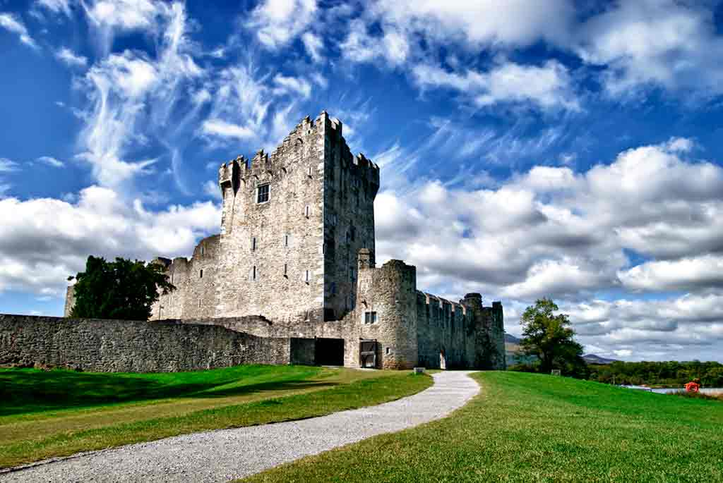 Famous haunted castles-Ross-Castle