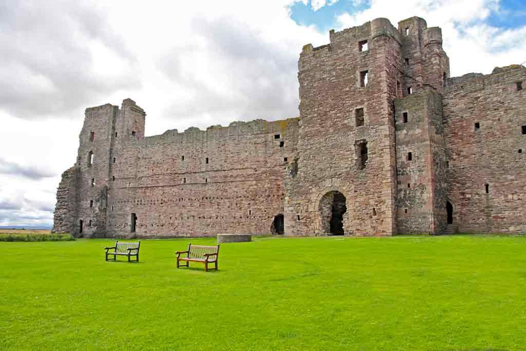Castles in Edinburgh-Tantallon-Castle