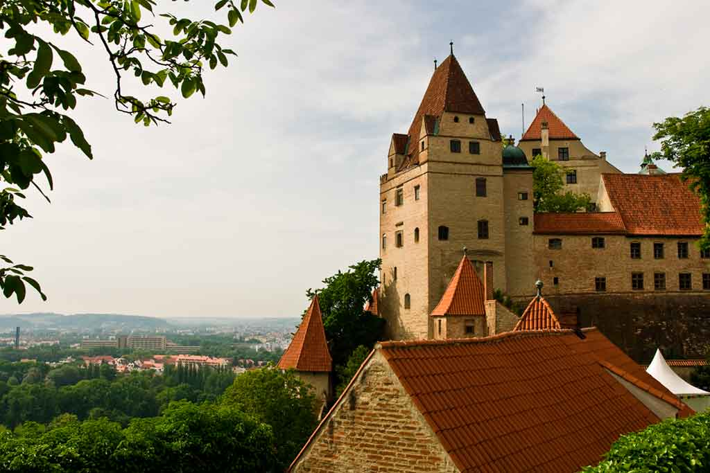 Best castles near Munich-Trausnitz-Castle