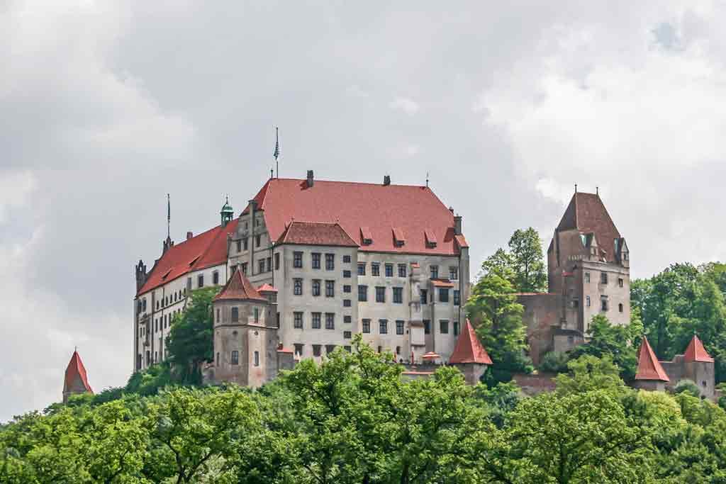 Best Bavarian Castles-Trausnitz-Castle
