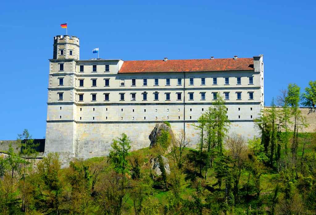 Famous Castles in Bavaria-Willibaldsburg-Castle