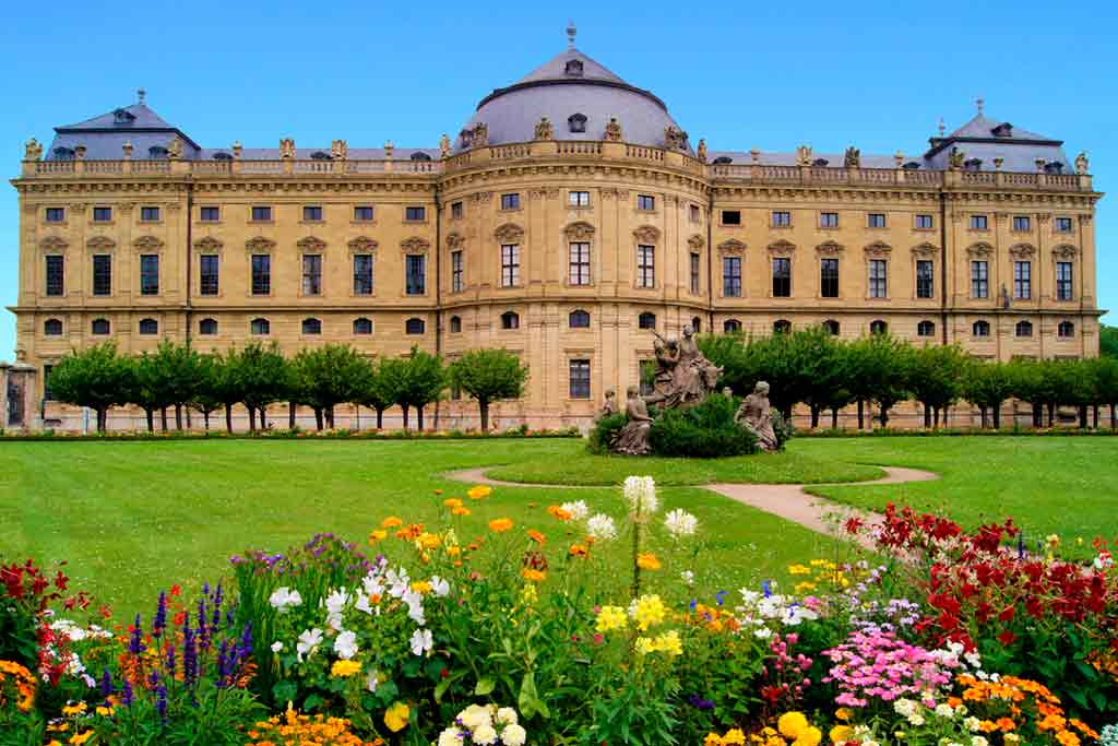 Castles in Bavaria-Würzburg-Palace