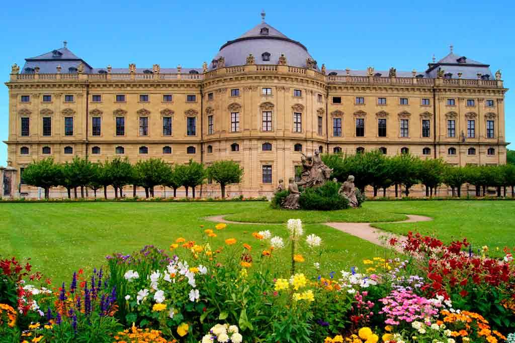 Castles in Bavaria-Würzburg-Palace
