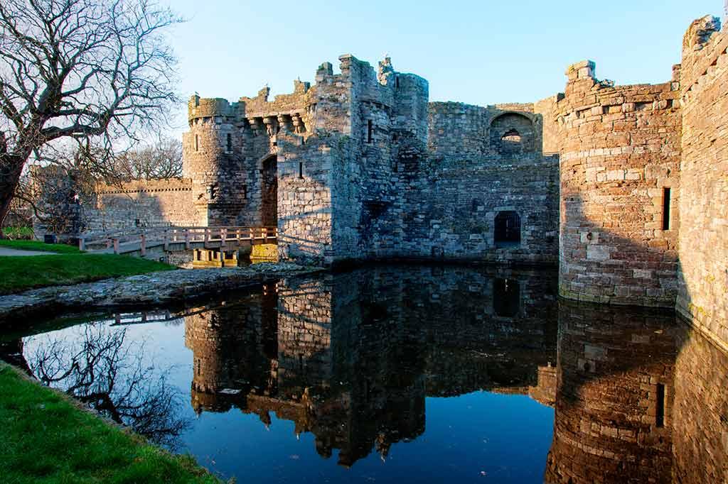 Northern Wales Castles-Beaumaris-Castle