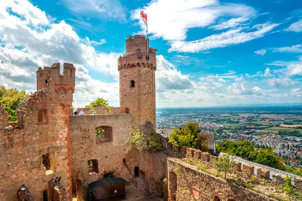 Famous Castles near Frankfurt-Auerbach-castle