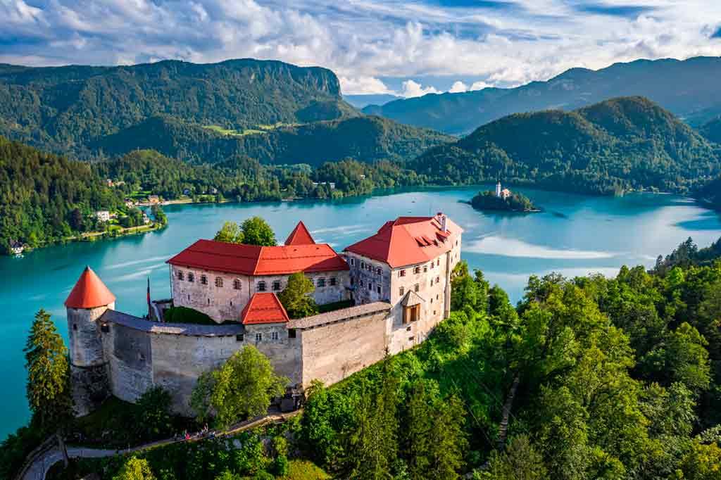 Castles in Slovenia-Bled-Castle