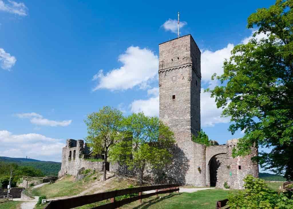 Famous Castles near Frankfurt-Burgruine-Königstein