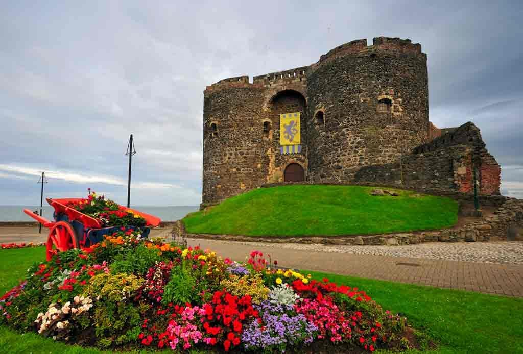 Famous Castles in Northern Ireland-Carrickfergus-Castle
