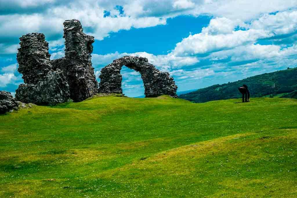 Northern Wales Castles-Castell-Dinas-Bran