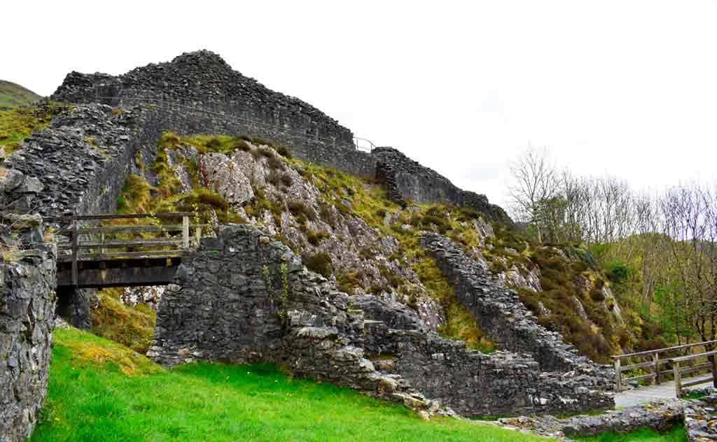 Northern Wales Castles-Castell-y-Bere