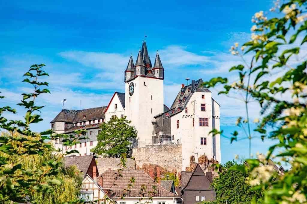 Castles near Frankfurt-Castle-Diez