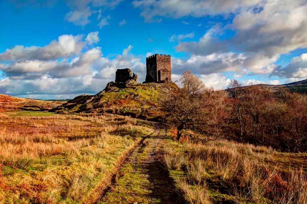 Castles in Northern Wales-Dolwyddelan-Castle