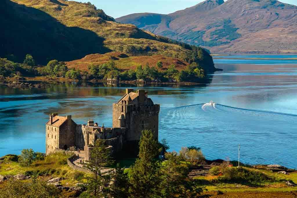 Best castles in Highlands-Eilean-Donan-Castle