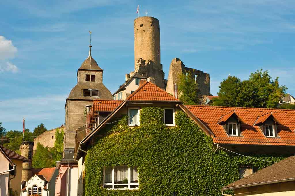 Famous Castles near Frankfurt-Eppstein-Castle