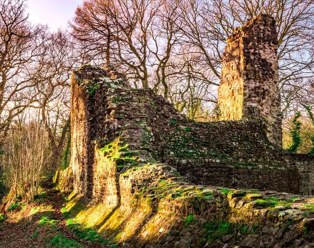 Castles in Northern Wales-Ewloe-Castle