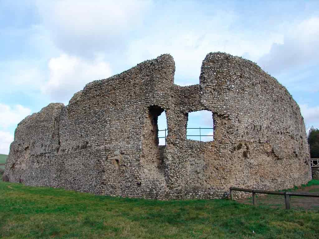 Best castles near London-Eynsford-Castle