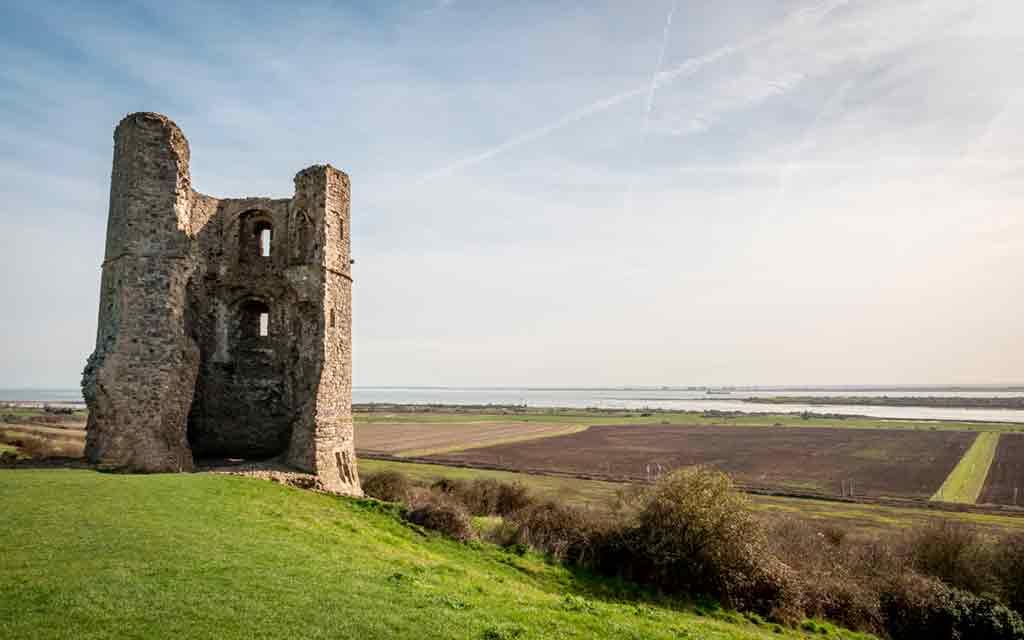 Castles near London-Hadleigh-Castle