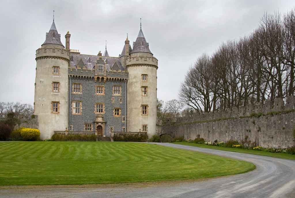 Best castles in Northern Ireland-Killyleagh-Castle-Towers