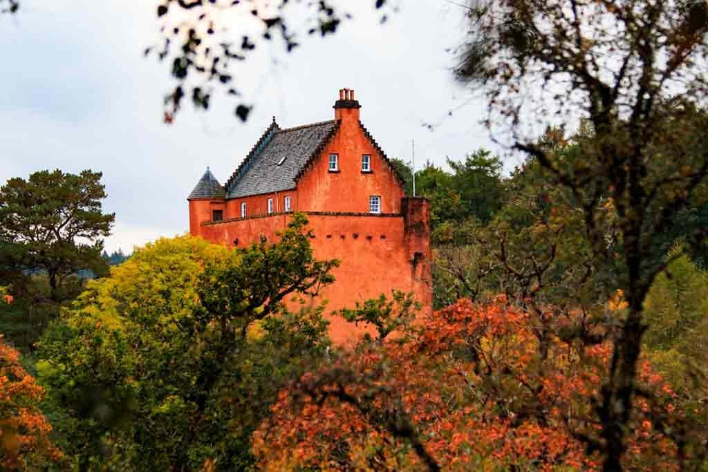 Famous Castles in Highlands-Kinlochaline-Castle