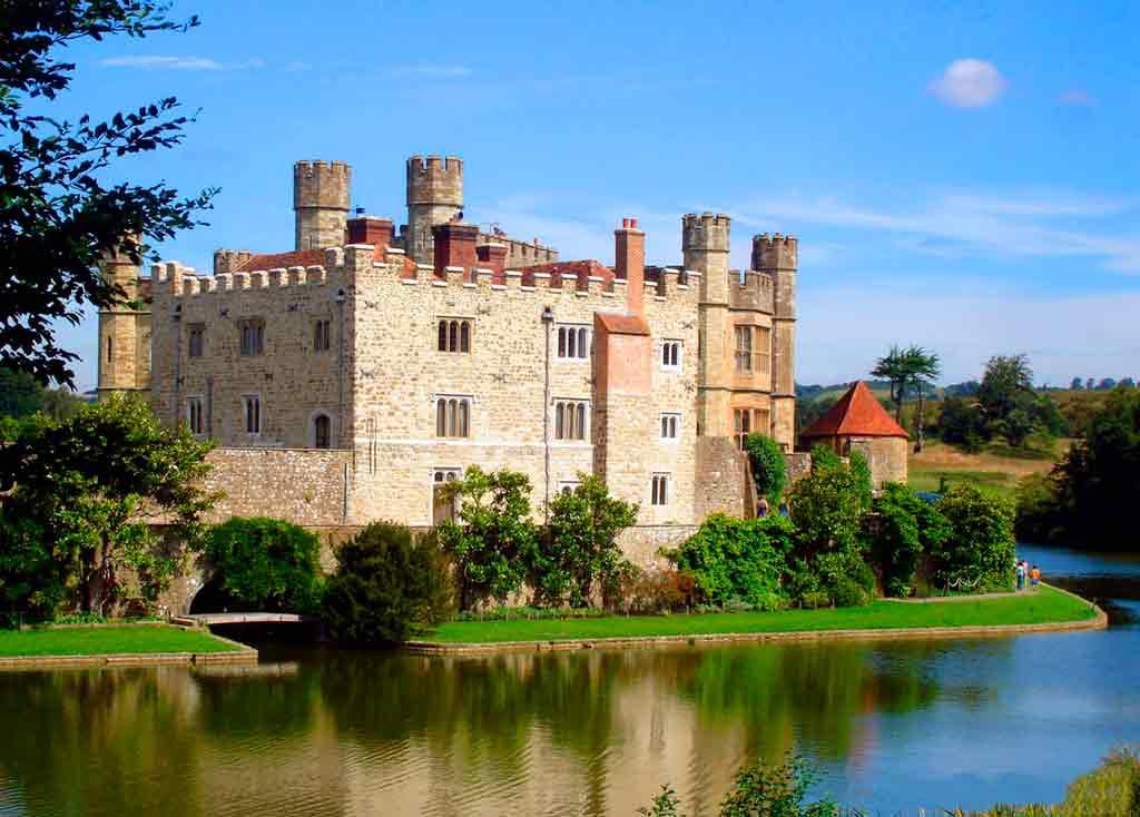 Famous Castles near London-Leeds-Castle
