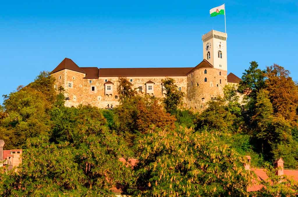 Best castles in Slovenia-Ljubljana-Castle