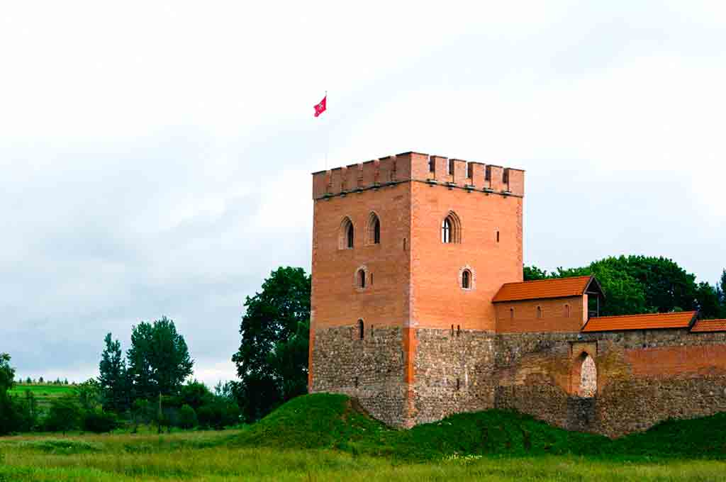 Castles in Lithuania-Medininkai-Castle