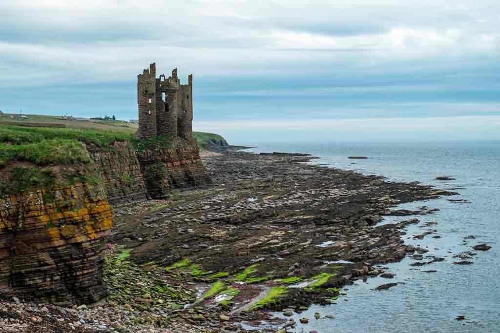Best castles in Highlands-Old-Keiss-Castle