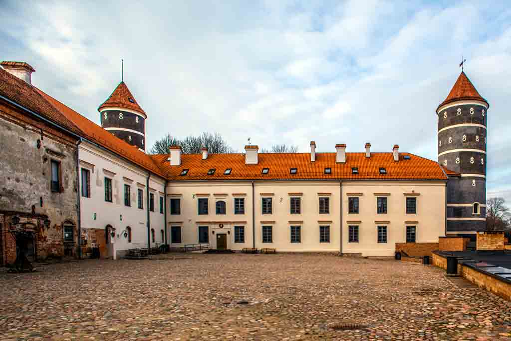 Famous Castles in Lithuania-Panemune-Castle