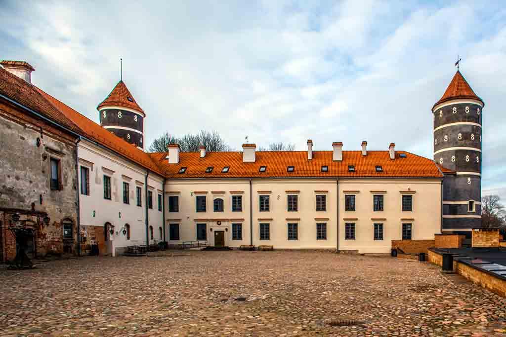 Famous Castles in Lithuania-Panemune-Castle