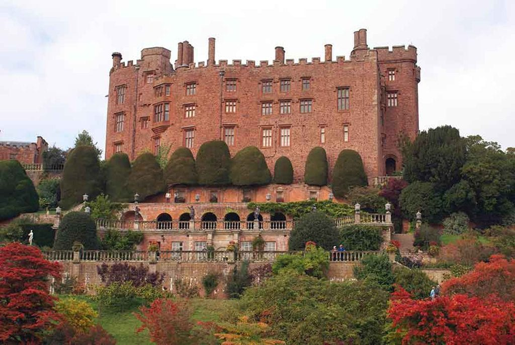 Castles in Northern Wales-Powis-Castle