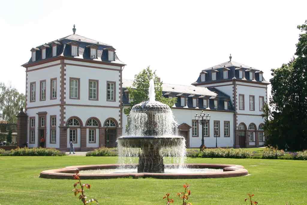 Castles near Frankfurt-Schloss-Philippsruhe