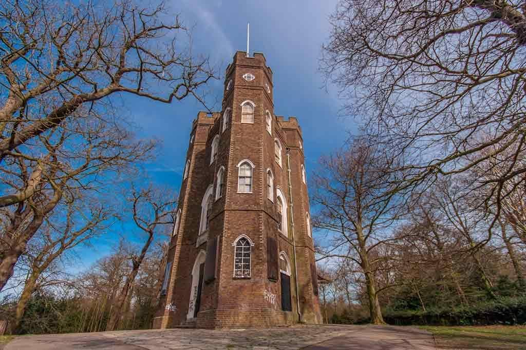 Castles near London-Severndroog-Castle