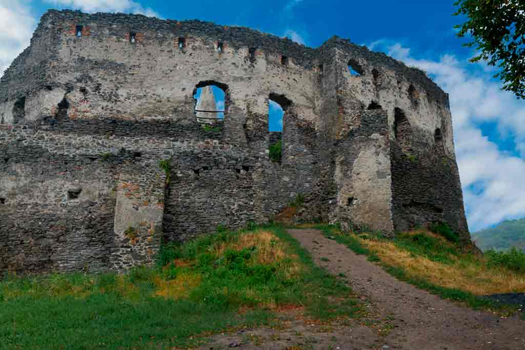 Hungarian Castles-Somló-Castle