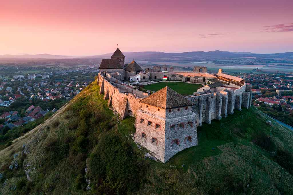 Famous Castles in Hungary-Sumeg-Castle