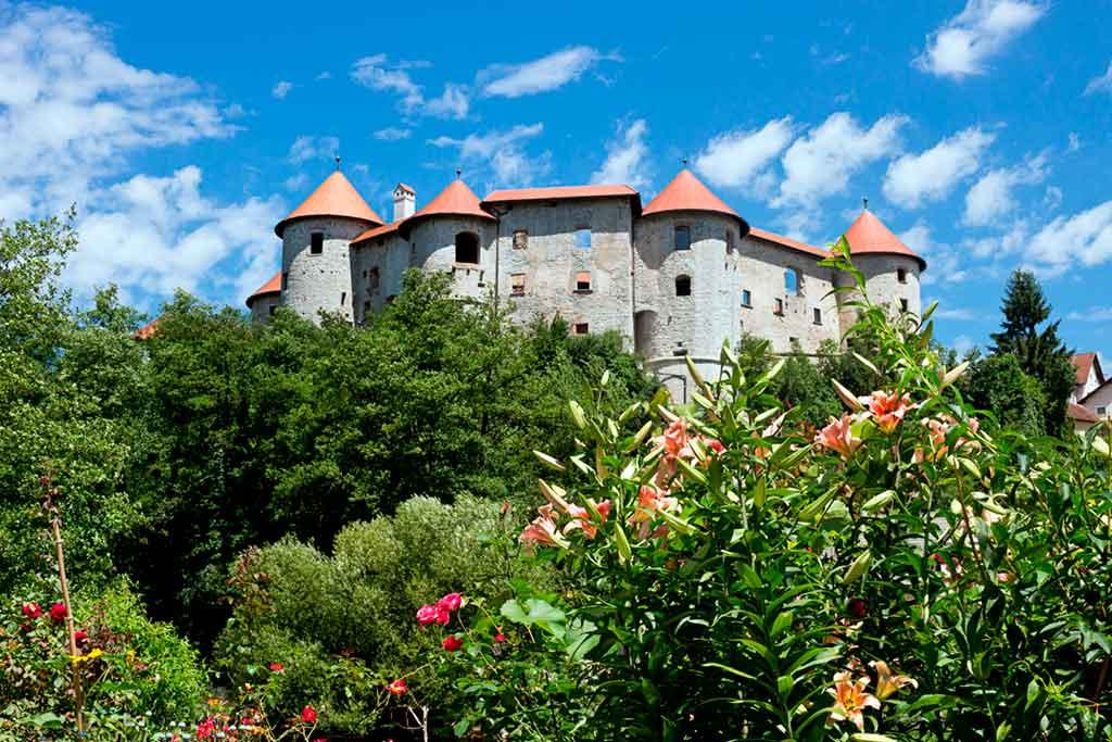Slovenian Castles-Zuzemberk-Castle