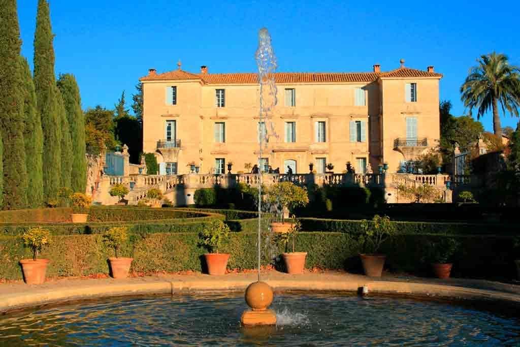 Castles in Southern France-Castle-of-Flaugergues