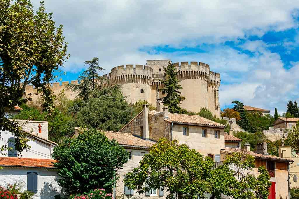Castles in Southern France-Château-de-Villeneuve