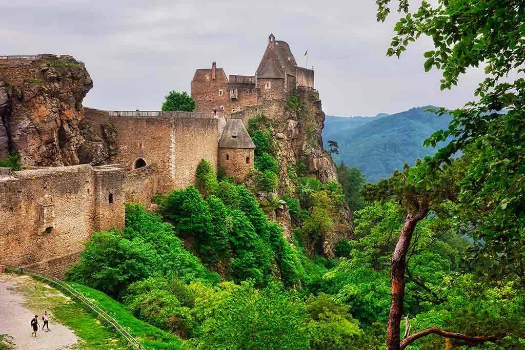 Castles in Austria-Aggstein-Castle